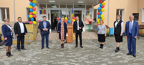 """A fost inaugurat un nou bloc al Liceului """"Mihai Eminescu"""" din orașul Cimișlia"""