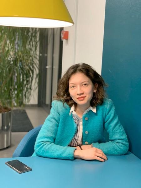 """Valeri Stăvilă, studentă în Danemarca: """"Ce poate fi mai plictisitor decât să stai acasă atunci când toată acțiunea se întâmplă la secțiile de vot?"""" Sursă foto: arhiva personală"""