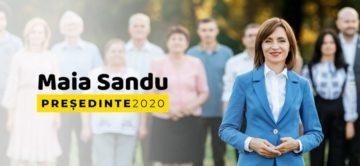 Maia Sandu, prima femeie președinte din istoria Republicii Moldova