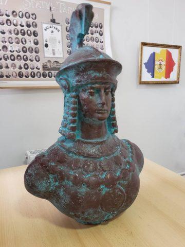 Inaugurarea bustului Reginei Tomiris în orașul Cimișlia