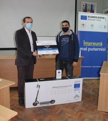 Echipele câștigătoare ale Urban Hackathon pentru Cahul și-au primit premiile