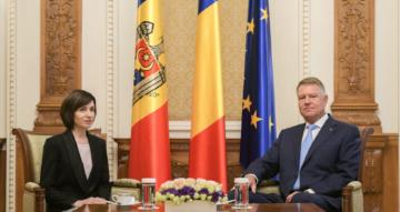 Preşedintele României, Klaus Iohannis, în prima vizită la nivel înalt la Chişinău după alegerea Maiei Sandu