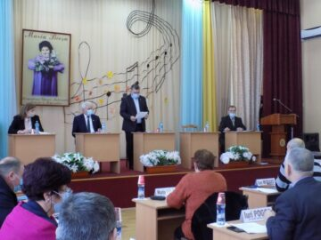 Ședința extraordinară a Consiliului Raional Ștefan Vodă