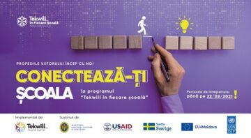 EU4Moldova: Startup City Cahul aduce profesiile viitorului mai aproape de elevii din regiune
