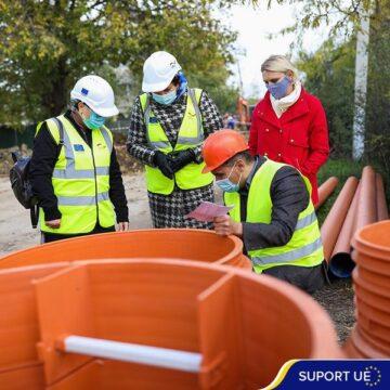 Lucrările de alimentare cu apă a patru localități din raionul Loeva sunt aproape finalizate