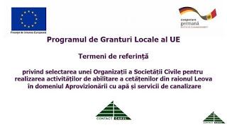 Centrul CONTACT-Cahul anunță concurs privind identificarea unei Organizații a Societății Civile, care va realiza activități de mobilizare și abilitare a cetățenilor în raionul Leova