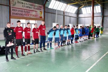 Cupa președintelui raionului Cimișlia la minifotbal: tinerețea a învins experiența