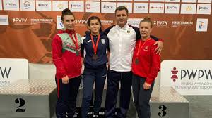 Luptătoarea Irina Rîngaci a obținut o nouă medalie
