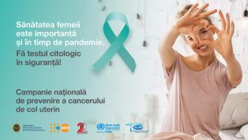Cancerul de col uterin poate fi prevenit!