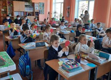 Европейская школа детей из Басарабяски