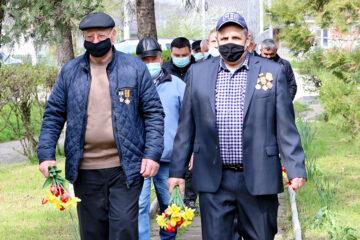 Comemorarea, la Cimișlia, a victimelor de la Cernobîl
