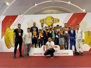 Locuri de frunte pentru echipa sportivă de Jiu Jitsu Brazilian din Cahul