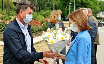 Președinta Republicii Moldova, Maia Sandu, în vizită în raionul Cimișlia