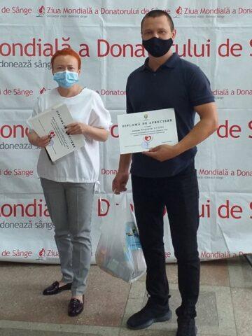 În preajma Zilei Mondiale a Donatorului, Primăria Municipiului Cahul este tradițional alături de cei care donează sânge benevol și neremunerat