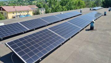 Sistem fotovoltaic la complexul sportiv de la Gura Galbenei, raionul Cimișlia