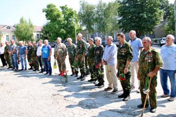 Comemorarea, la Cimișlia, a eroilor căzuți în războiul de la Nistru