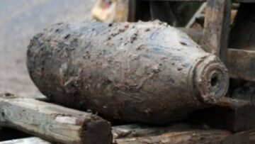 Un proiectil de artilerie și două bombe de calibru mic au fost neutralizate la Cimișlia