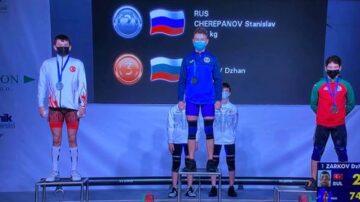 La doar 15 ani, un tânăr din Moldova a înregistrat o performanță uimitoare la Campionatul European de Haltere