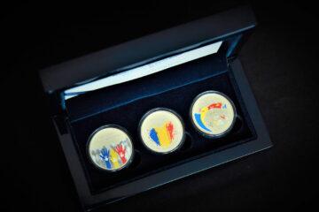 BNM a pus în circulație 3 monede noi cu ocazia a 30 de ani de la proclamarea independenței