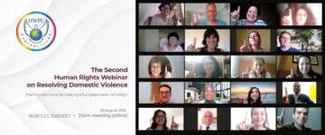 Experții europeni în domeniul drepturilor omului și cetățenii s-au întrunit pentru rezolvarea violenței domestice