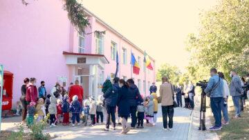 """Grădinița """"Alunelul"""" din s. Gradiște a fost renovată din surse donate de către Guvernul României"""