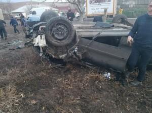 Accident rutier în satul Iurievca