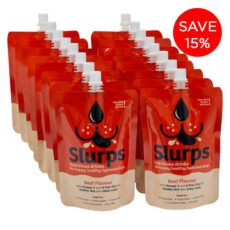 Beef Slurps Pawty Pack 16 Pouches
