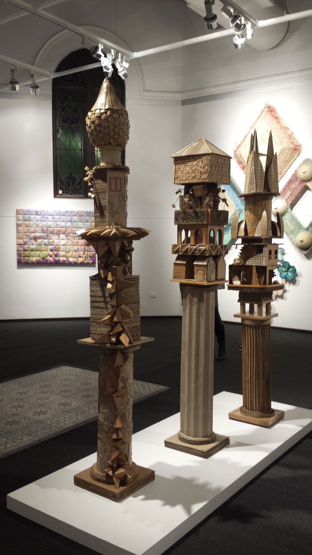 Monuments to Shelter #1#2#3 South West Art Now 2016  Bunbury Regional Art Galleries