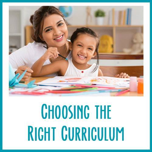 choosing the right cirriculam for your child