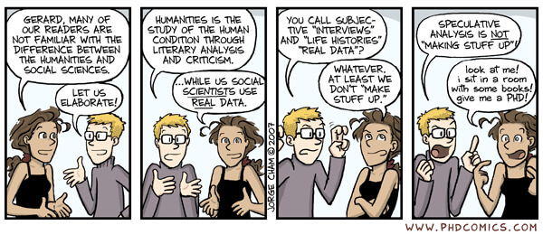 Humanities vs. social science