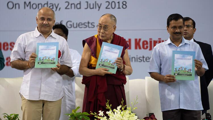 Dalai Lama Arvind Kejriwal