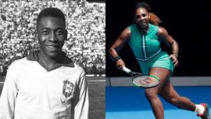 Pele Serena Williams