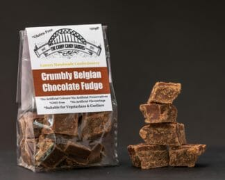CCG Crumbly Belgian Chocolate Fudge