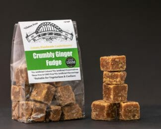 CCG Crumbly Ginger Fudge