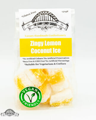 Vegan Lemon Coconut Ice