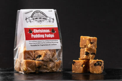 Canny Candy Gadgies Christmas Pudding Fudge