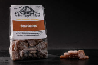 Coal Seams - A ginger flavour boiled sweet