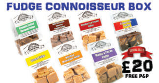 Fudge Connoisseur Box, special box of fudge