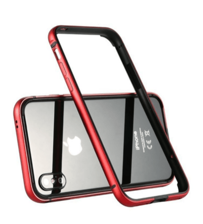 Aluminium  For Apple iPhone X Red