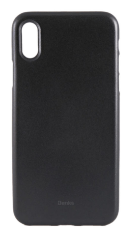 Protective Case Cover For Apple iPhone X / XS Solid Black