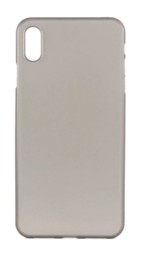 Protective Case Cover For Apple iPhone XS Max Grey