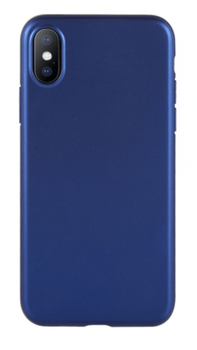 Ultra-Slim Protective Case Cover For Apple iPhone X Blue