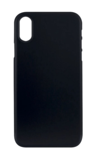 Protective Case Cover For Apple iPhone XS Max Solid Black