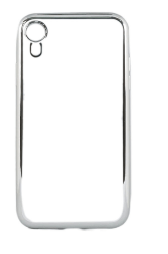 Protective Case Cover For Apple iPhone XR Brushed Silver