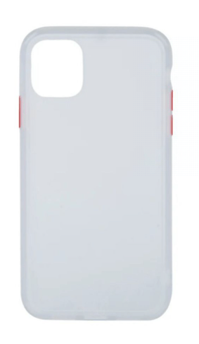 Protective Case Cover For Apple iPhone 11 Transparent White