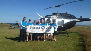 helicopter charters scotland