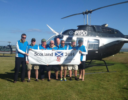 Heli-Golf | Helicopter Golf Transfers in Scotland
