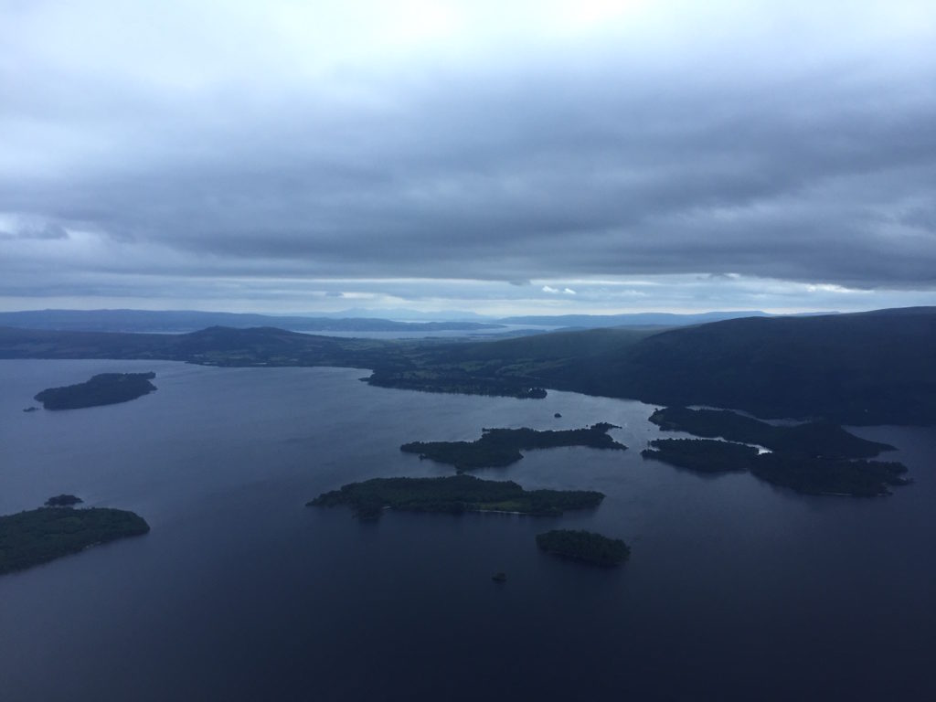 Loch Lomond looking down the Clyde