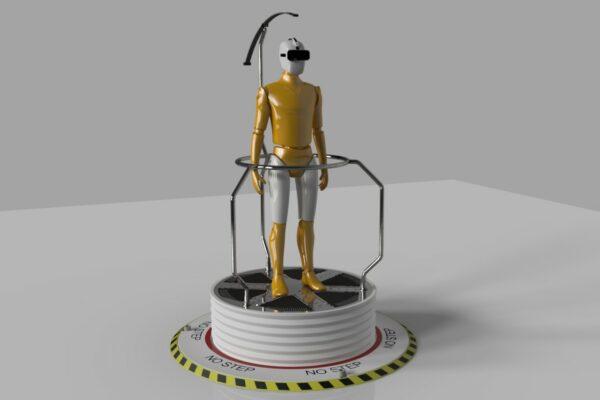 CircleGarage-SingularPerception-VR Footboard2