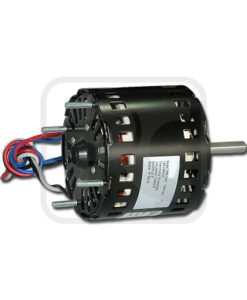 60Hz 1.55A Nickel Plating Shaded Pole Fan Motor With UL / CE Certification